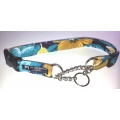 Buckle Training Collar with Chain Correction Loop